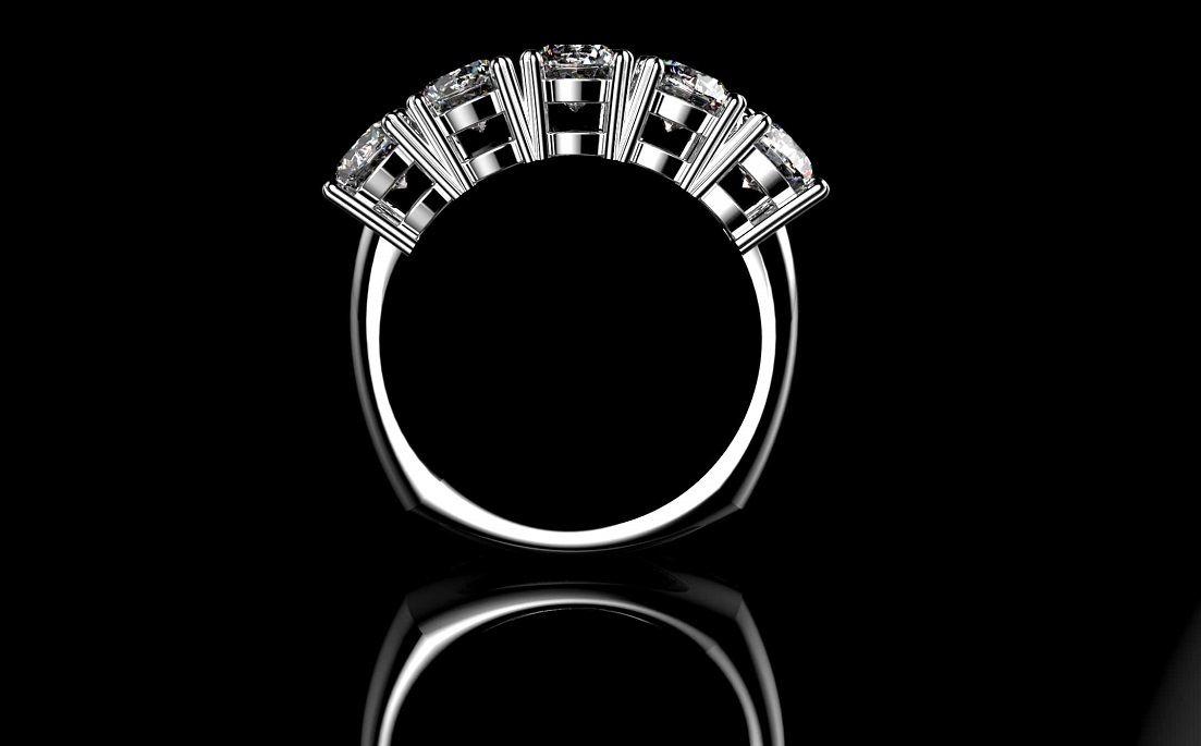 ویژگی های انگشتر الماس دار