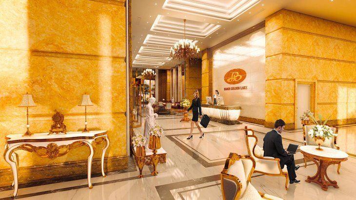 نخستین هتل طلایی درجهان( gold-plated hotel)