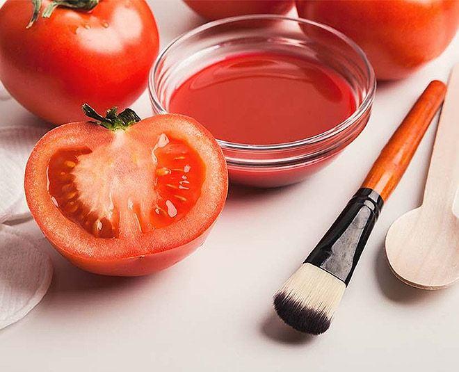 صورت خود را با گوجه بشویید تا جوان بمانید