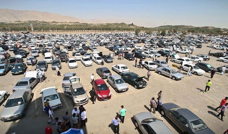 قیمت خودرو در حال ریزش شدید