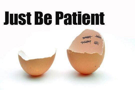 صبور بودن