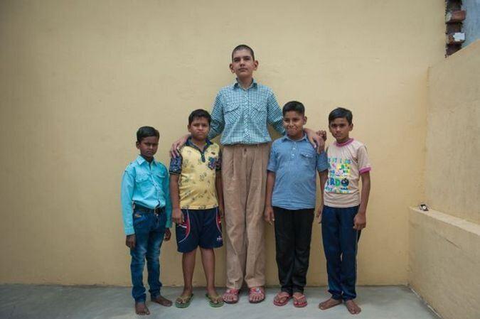 کودک 5 ساله با 1/70 متر قد + تصاویر