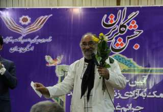 جشن گلریزان اتحادیه طلا و جواهر همدان برای زندانیان جرایم غیر عمد + تصاویر