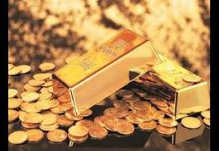 قیمت طلا تحت تاثیر تحولات آمریکا و کره شمالی، کاهش یافت