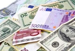 کاهش نرخ مبادله ای ۲۸ ارز/ افت قیمت رسمی دلار و یورو