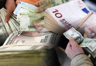 افزایش نرخ دلار/ کاهش قیمت یورو