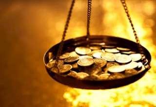 قیمت طلا تحت تاثیر تقویت ارزش دلار و افزایش شاخص سهام با کاهش روبرو شد