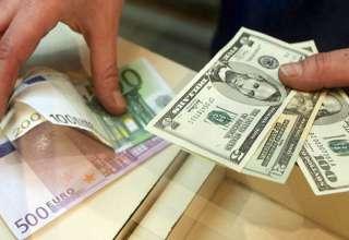 نرخ ارز در صرافی ملی /کاهش نرخ یورو و افزایش قیمت پوند