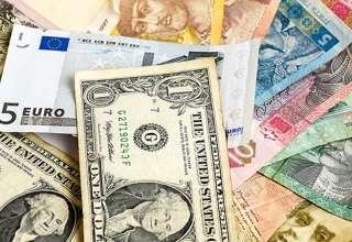 کاهش نرخ ارز در صرافی ملی/رشد قیمت یورو، پوند و ۲۹ ارز بانکی