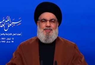 سید حسن نصرالله:کشتی حامل سوخت ایران، وارد سوریه شد