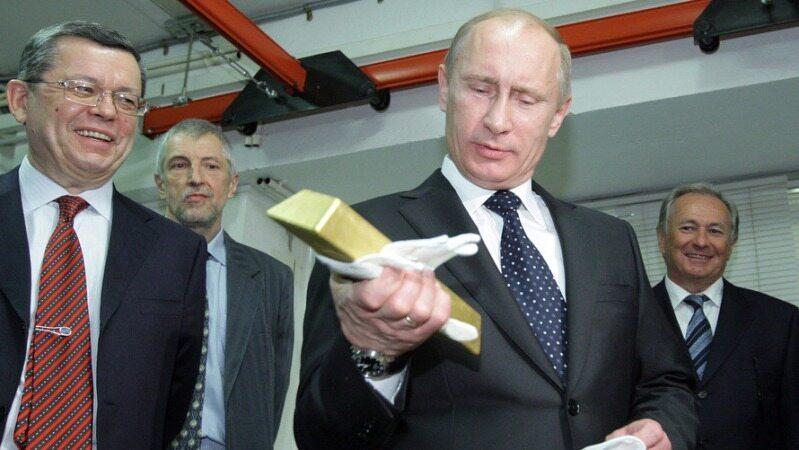 تحلیل خواندنی مارکت واچ از علت خرید طلا توسط روسیه و چین