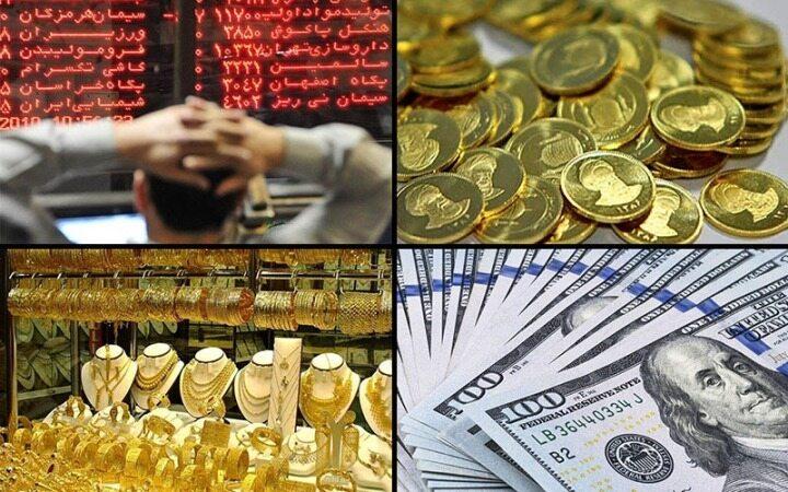 آخرین نرخ طلا و سکه و بازار های مالی مورخ 25 شهریور 98
