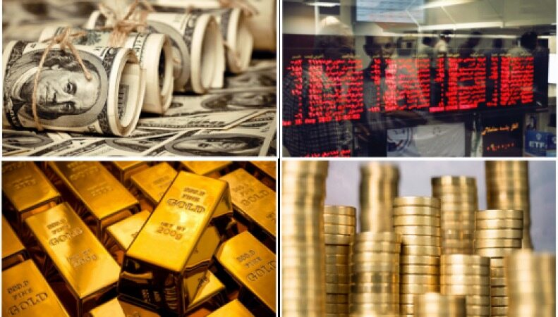 آخرین نرخ طلا و سکه و بازار های مالی مورخ 27 شهریور 98