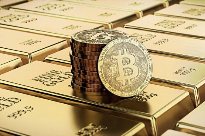 مقایسه جالب بین قیمت طلا و بیت کوین از سال 2011 تاکنون