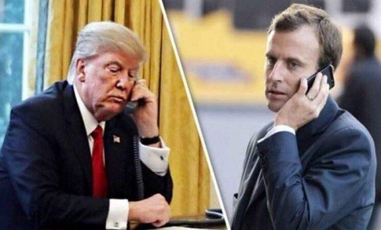 سوریه، ایران و ناتو، محور گفتوگوی تلفنی ماکرون و ترامپ