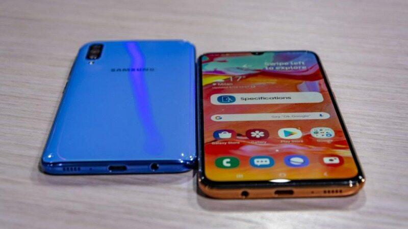 قیمت گوشی A70 در موبایلفروشیها و فروشگاههای آنلاین