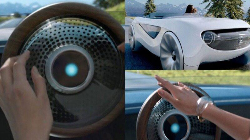 خودروی عجیب هوندا با فرمان مجهز به هوش مصنوعی!