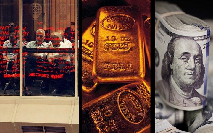 دلار، طلا و سکه گران شدند / آنالیز بازارها در سومین هفته بهمن ماه