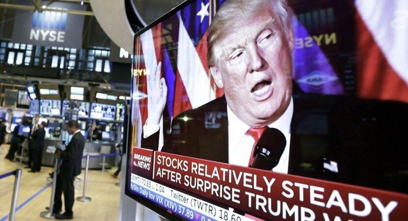 ترامپ بازارهای مالی جهان را  شوکه کرد