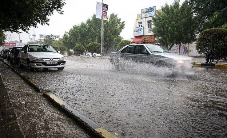 هواشناسی ایران ۹۹/۱/۹/بارش در اغلب شهرها و باران 110 میلیمتر در برخی نقاط/ورود به شهرها فقط با پلاک و بیمهنامه مربوط به همان شهر/ رصد تردد خودرو در جادهها از طریق 2300 ترددشمار