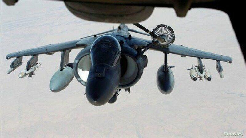 اولین حمله هوایی انگلیس به مواضع داعش در عراق از سپتامبر گذشته