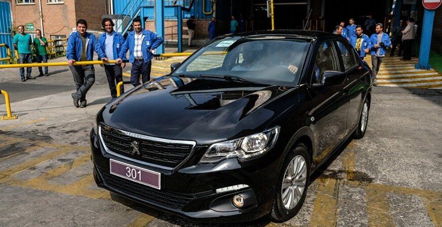 تکلیف تولید پژو 301 در ایران خودرو امروز مشخص شد