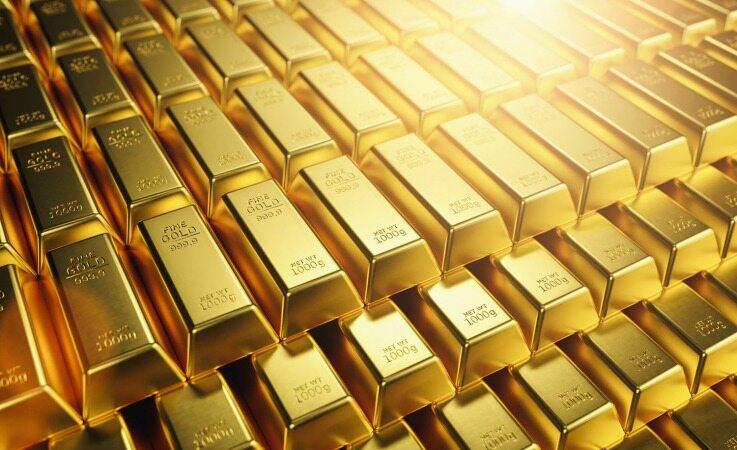 رشد قیمت هر انس طلا نسبت به روز گذشته