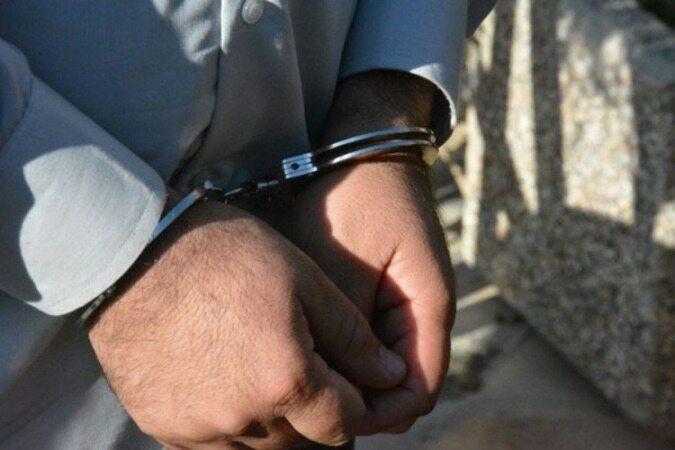 بازداشت گنده لات مسلح اینستاگرامی در چالوس