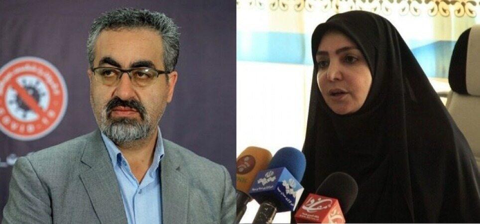کیانوش جهانپور رفت/لاری سخنگوی وزارت بهداشت شد