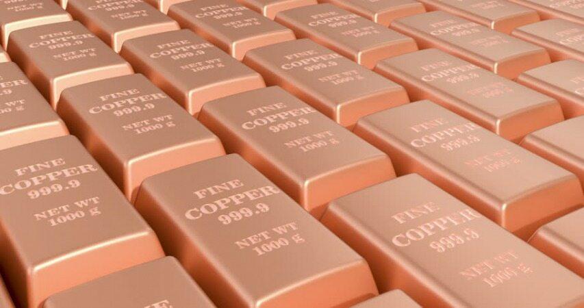 صعود قیمت فلز قرمز در بازارهای جهانی در ماه آتی