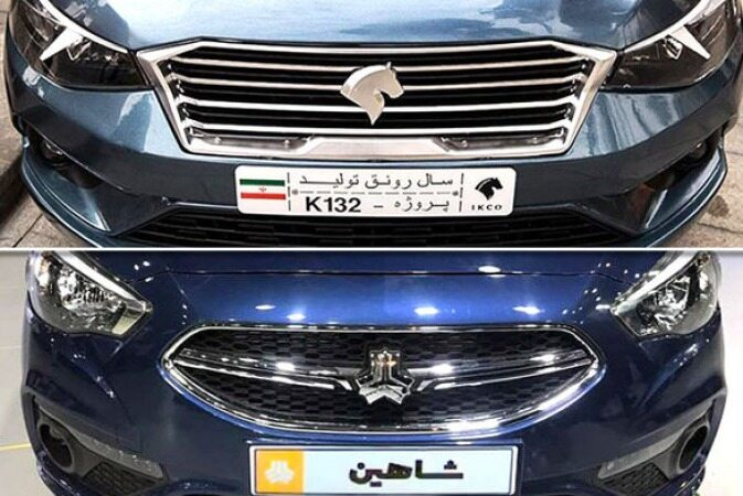 K132 یا شاهین؛ مقایسه نسل جدید ماشینهای ایران خودرو و سایپا