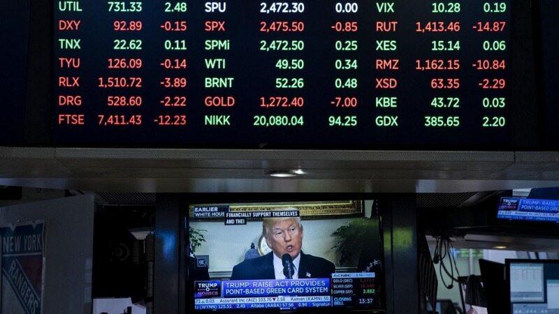 کاهش ارزش جهانی دلار/ واکنش بورسهای جهان بعد از سخنرانی ترامپ!