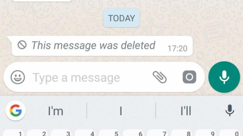 با این روش می توانید پیام های حذف شده در واتس اپ را ببینید