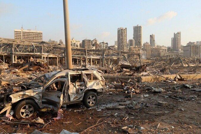انفجار بیروت ناشی از یک محموله نیترات آمونیوم بوده است/مسببان انفجار بیروت بهای کار خود را میپردازند/ قربانیان انفجار بیروت به 50 کشته رسید