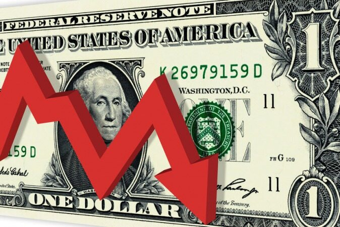 تصمیم بانک مرکزی آمریکا سقوط دلار را رقم زد
