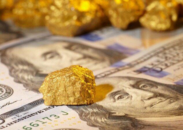 سقوط ناگهانی قیمت طلا به روز های گذشته