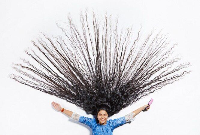 عجیب ترین و بلند ترین موهای دنیا را ببینید