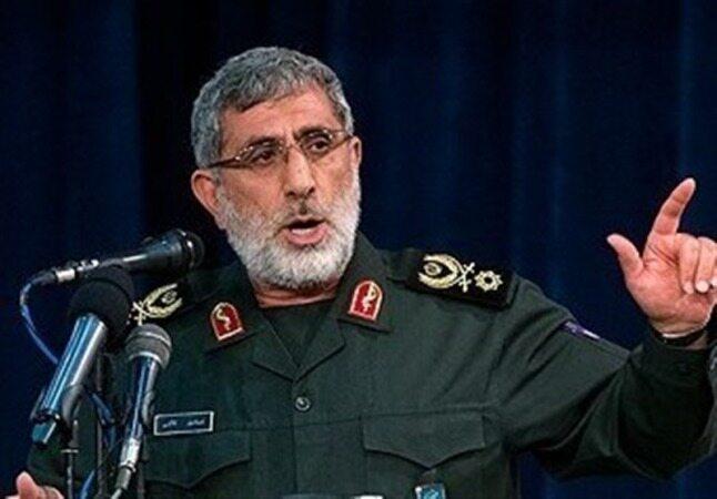 سردار قاآنی: با تمام نیروهای مدافع میهن برای انتقام خون شهید فخریزاده همپیمان میشویم