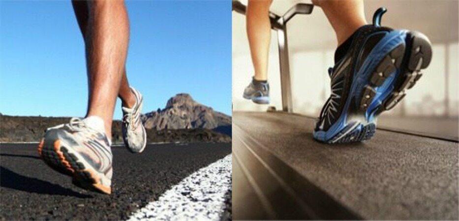 دویدن بر روی تردمیل بهتر است یا در فضای آزاد؟