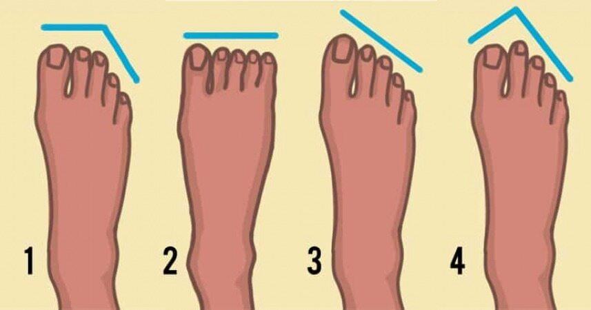 از شکل کف پاهای خود اجداد خود را پیدا کنید