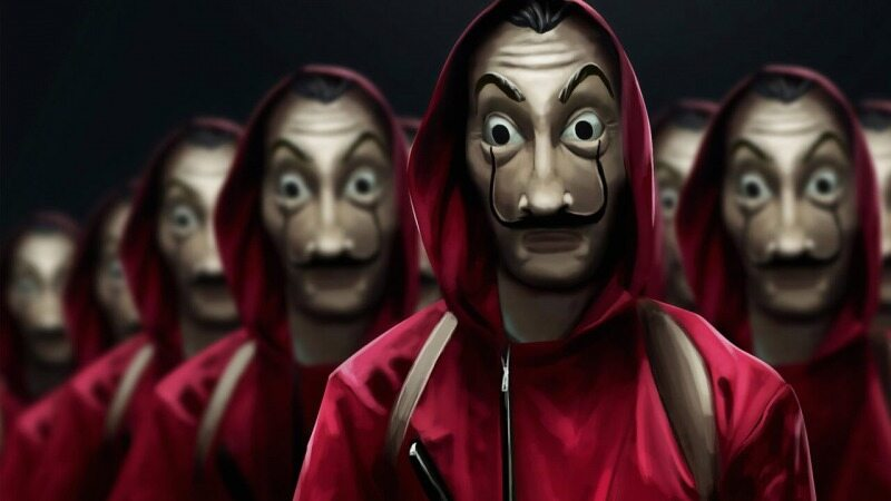 در این فیلم افراد به دزدی از بانک مرکزی می روند