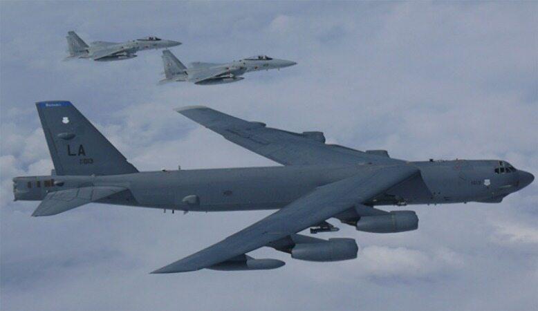 بازگشت بمبافکنهای آمریکا به خاورمیانه