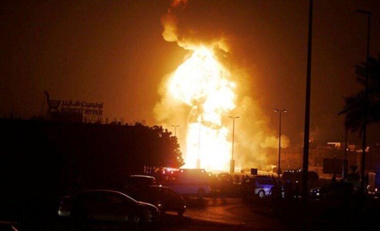 شنیده شدن صدای انفجار نزدیک فرودگاه اربیل
