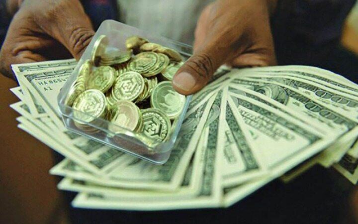 دلار افزایشی و طلا کاهشی شد