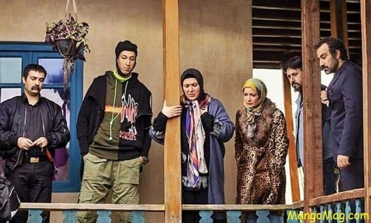 عکس جدید بازیگر سریال پایتخت به همراه شوهرش !