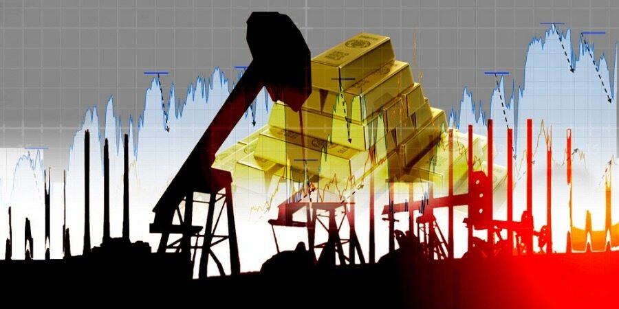 عقب نشینی نفت و سقوط قیمت طلا