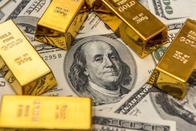 پایین آمدن طلا نسبت به تقویت دلار
