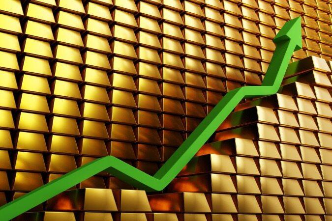 صعود ناگهانی و شدید قیمت طلا