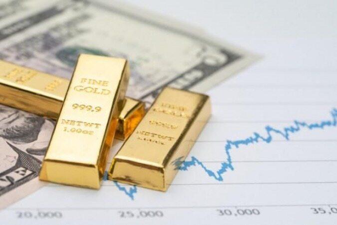 طلا از کمترین میزان سه هفته خود بازگشت