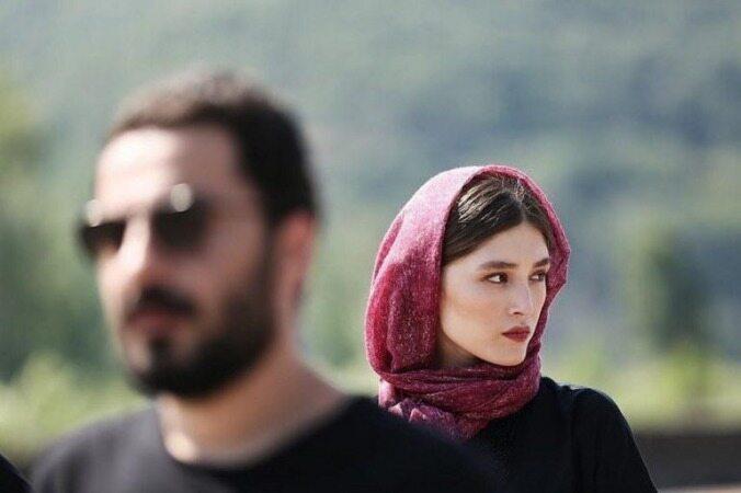 ست کردن لباس نوید محمدزاده و فرشته حسینی؛ آیا رابطهای در کار است؟